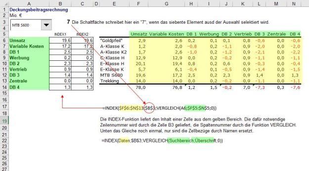 Interaktive Tabellen 2a